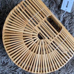 Bamboo handbag 👜 🌾